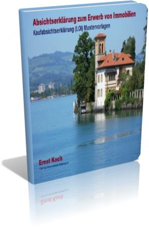 Absichtserklärung - Letter of intent - Für Immobilien