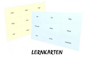 Lernkarten 'Das kleine 1x1'