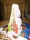 Ein kleines Kekshaus als weihnachtliches Mitbringsel