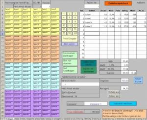 Kassensystem für Einzelhandel / Ladenkasse (mit Excel)