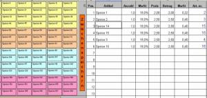Barkasse / Bistrokasse - Touchscreen/Maus (MS Excel)