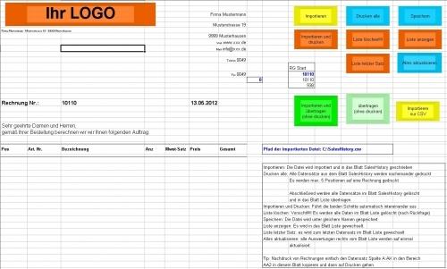 Ebay Verkaufsmanager für Auktionen, Excel aus CSV-Datei