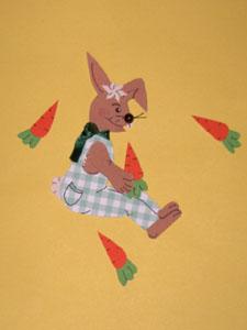 Hase aus Fotokarton