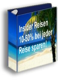 Bis 50% pro Reise sparen + Zusatzverdienst