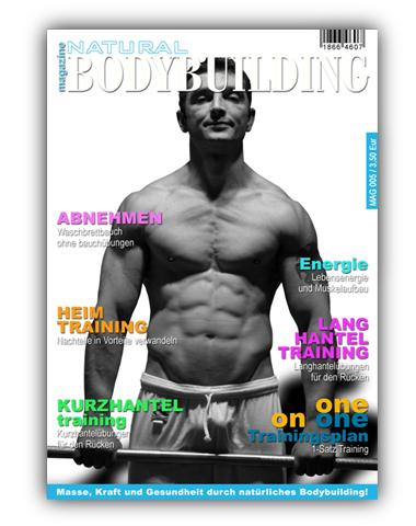 natural Bodybuilding magazine MAG 005 / RÜCKEN