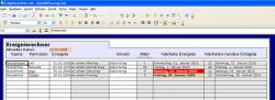 OpenOffice.org Ereignisrechner