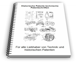 Historische Patente technische Patentschriften