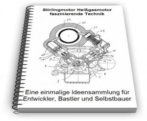 Stirlingmotor Stirling Motor Heißgasmotor Technik