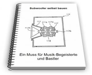 Subwoofer Bass Lautsprecher Tieftöner Technik Design