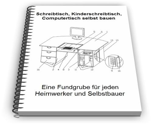 Schreibtisch Arbeitstisch Computertisch Technik Design