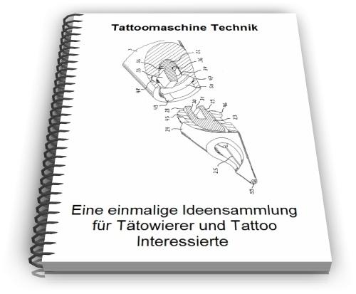 Tätowiermaschine Tattoomaschine Technik und Design