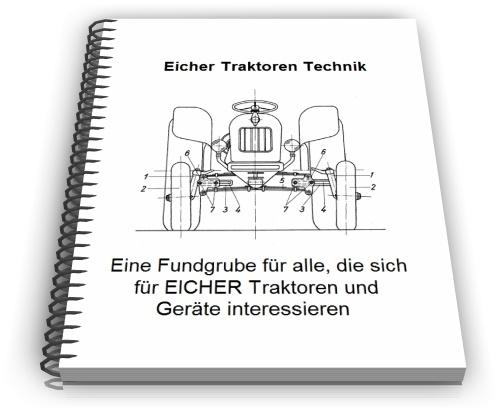 Eicher Traktoren Schlepper Technik Entwicklungen Design