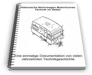 Historische Wohnwagen Motorhomes Technik im Detail