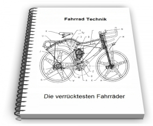 Fahrrad Liegerad Dreirad Technik Design Entwicklungen