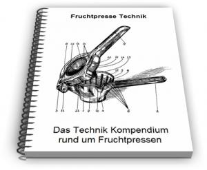 Fruchtpresse Frucht Presse Technik Entwicklungen Design