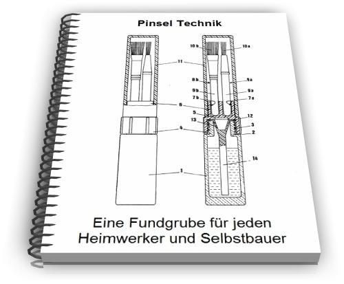 Pinsel Borstenfassung Borsten Reinigung Technik