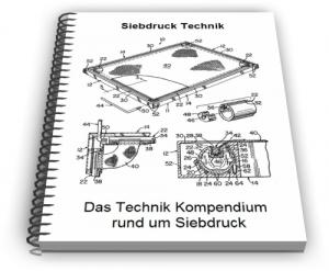 Siebdruck Siebdruckmaschine Schablone Verfahren Technik
