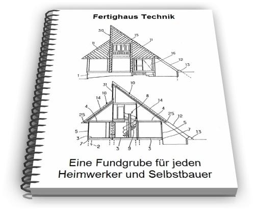 Fertighaus Fertighäuser Bauteile Wandelemente Technik