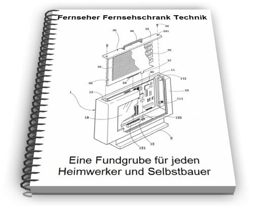 Fernseher Fernsehschrank TV Schrank Technik Entwicklungen
