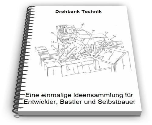 Drehbank Drehbänke Werkzeugmaschine Technik Entwicklungen