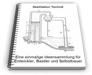Destillation Destille Destillieren Verfahren Technik