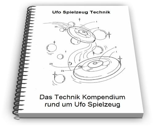 Ufo fliegende Untertasse Spielzeug Flugkreisel Technik