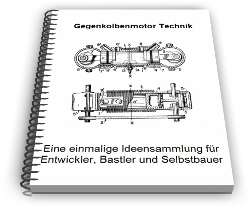Gegenkolbenmotor Gegenkolbenmaschine Technik
