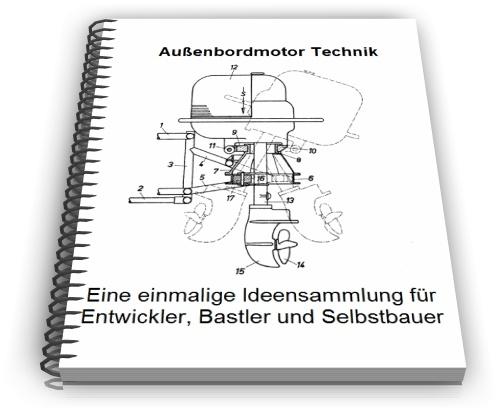 Außenbordmotor Außenborder Technik