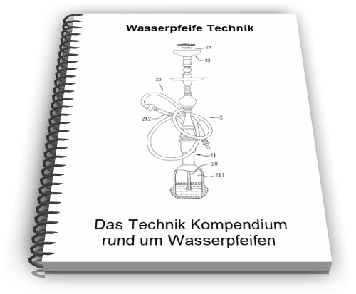 Wasserpfeife Shisha Bong Technik
