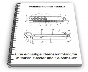 Mundharmonika Zungeninstrument Technik