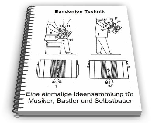 Bandonion Bandoneon Konzertina Technik