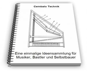 Cembalo Spinett Technik