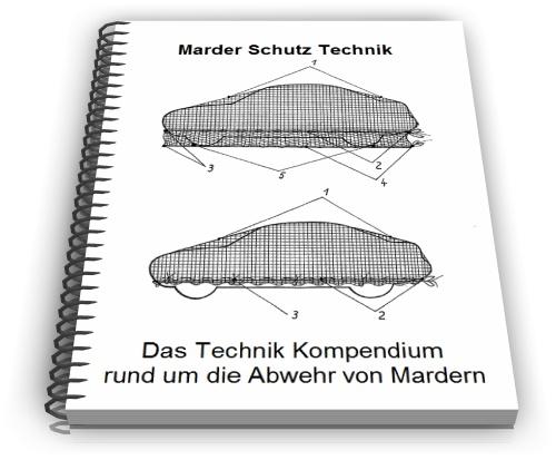 Marder Schutz Marder Abwehr Falle Technik