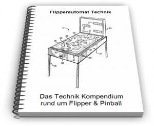 Flipperautomat Pinball Automat Flipper Spiel Technik