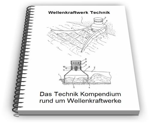 Wellenkraftwerk Energie Gewinnung Wellen Technik