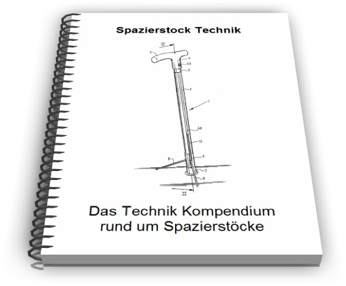 Spazierstock Technik