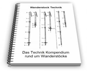 Wanderstock Bergstock Trekking Stock Technik