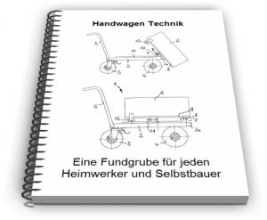 Handwagen Wagen von Hand ziehbar Technik