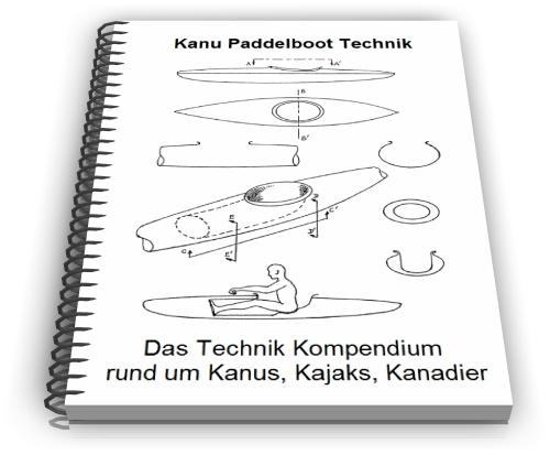 Kajak Paddelboot Kanu Kanadier Technik