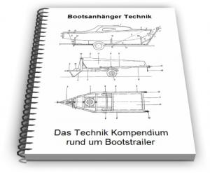 Bootsanhänger Bootstrailer Slipwagen Technik