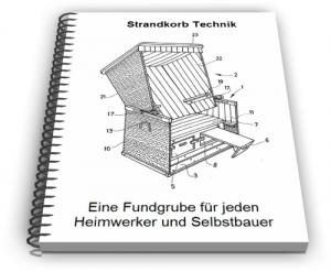 Strandkorb Strandstuhl Strandzelt Technik