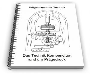 Prägemaschine Prägedruck Technik