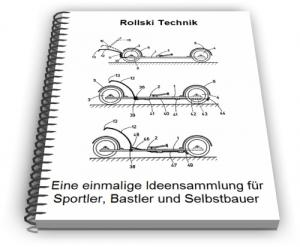 Rollski Skiroller Sommerski Technik