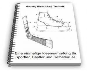 Hockey Eishockey Schläger Schutz Puck Technik