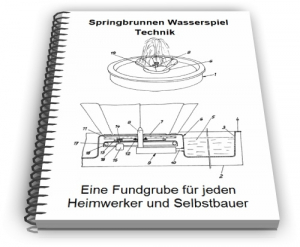 Springbrunnen Zimmerbrunnen Wasserspiel Zierbrunnen Technik