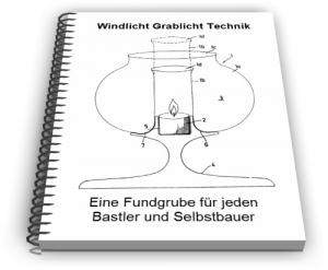 Windlicht Grablicht Öllicht Technik