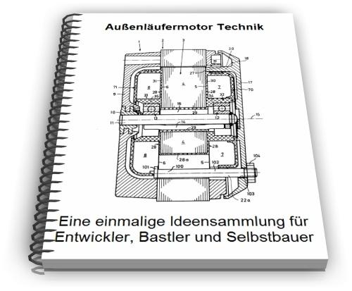 Außenläufermotor Außenläufer Technik