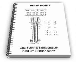 Blindenschrift Braille Technik