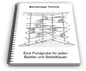 Bücherregal Buchregal Technik