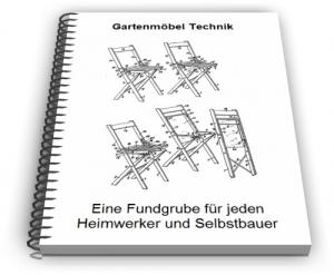 Gartenmöbel Gartenbank Gartenstuhl Gartentisch Technik